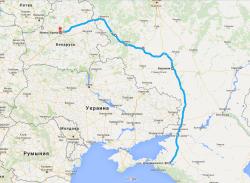 Минск открытие сезона 2016 1900 км (2)