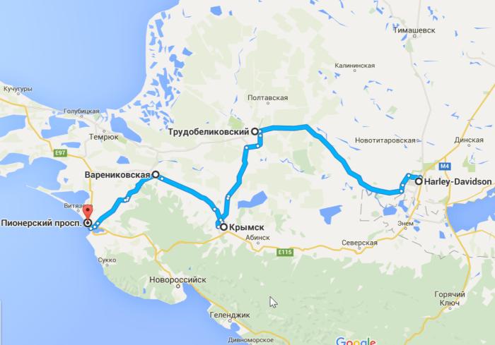2016-05-13 11_15_42-откуда_ Harley-Davidson; куда_ Пионерский просп.– Google Карты (2)