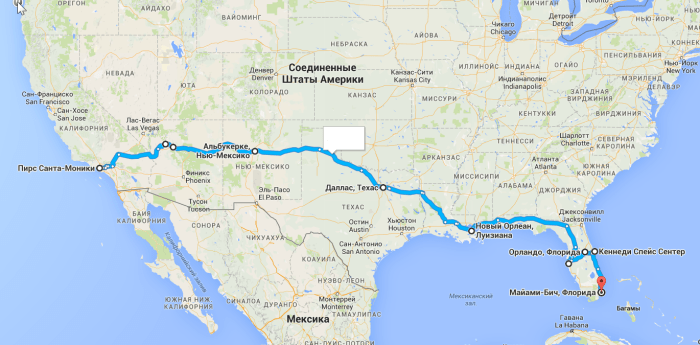 2016-05-13 13_59_08-откуда_ Пирс Санта-Моники; куда_ Майами-Бич, Флорида– Google Карты - Internet E (1)
