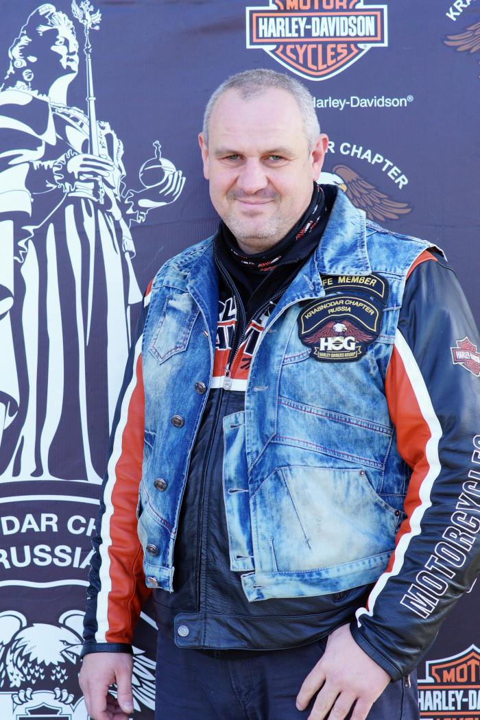 Сиделев Роман (модель мотоцикла SOFTAIL DELUX)